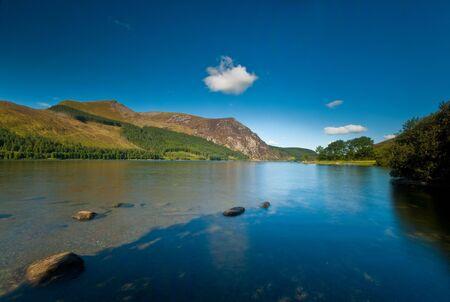 Llyn Cwellyn in the Snowdonia National Park, Wales, UK.