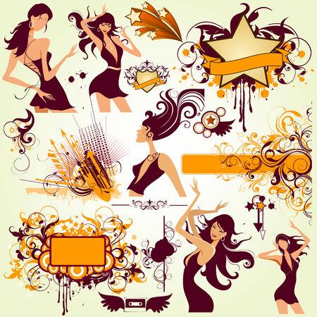 design elements Ilustrace