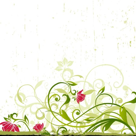 floral background Stock Vector - 7536161