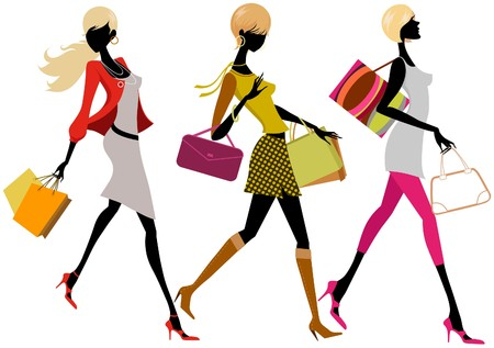 citylife: shopping girls