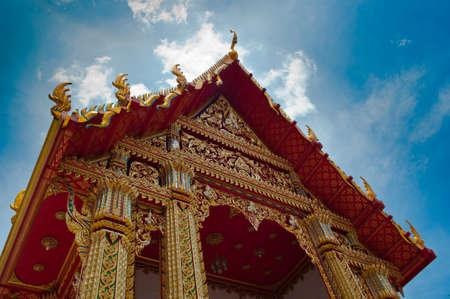 Beautiful ancient thai temple in bangkok Stock Photo - 9680730