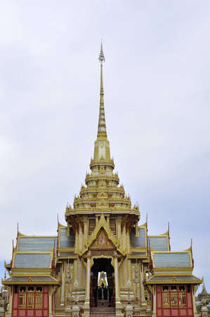 pyre: The royal crematory, Thailand Stock Photo