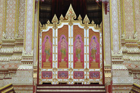Partition in the royal crematory, Thailand photo