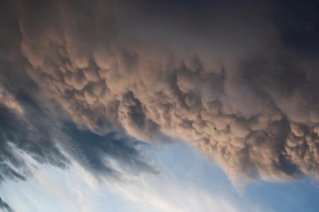 Terrible Mammatus cloud