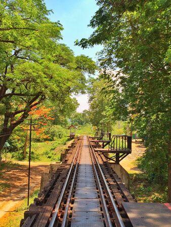 kanchanaburi: Railway at Kanchanaburi