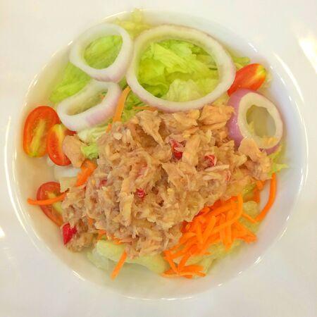 tuna salad: Tuna salad Stock Photo