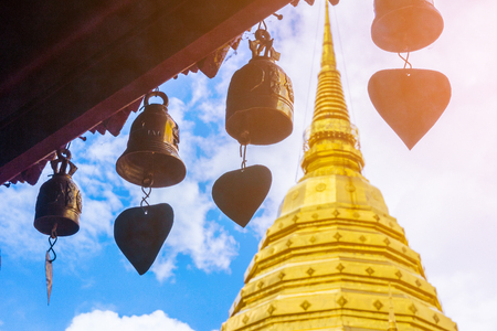 Wat Phra That Doi Suthep is the most important temple in Chiang Mai, Thailand.