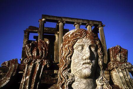 zeus: zeus temple inaizoni ancientcity