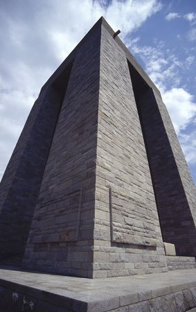 deliverance: monument for Turkish soldiers