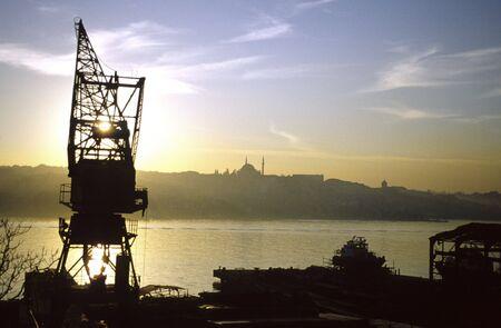 constantin: dock yard in istanbul