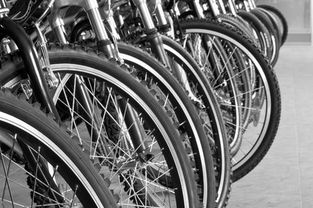 parking for bicycles Stock Photo - 3198025