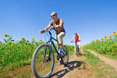 relax biking Stock Photo - 3425851