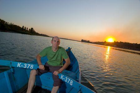 boatman: boatman Stock Photo
