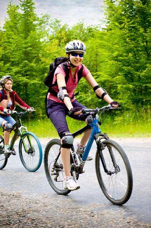 relax biking Stock Photo - 3849160