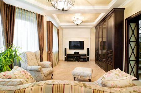5159753: design of an interior.Classic. Stock Photo