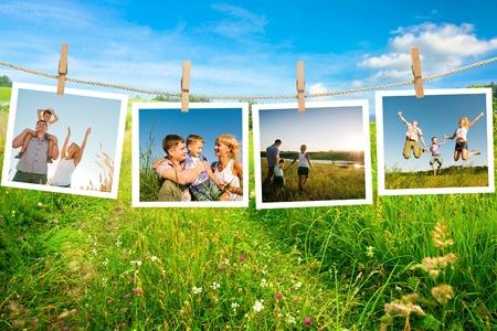 day of father: godersi la vita insieme Archivio Fotografico