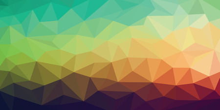 low light: colorful low poly background