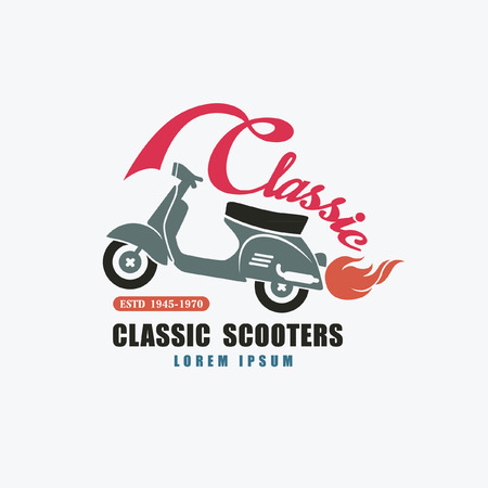car shop: classic scooter