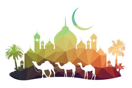 camello: animales de la fauna silvestre (camello) Vectores