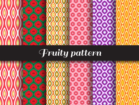 fruity: fruity pattern 6 style is Strawberry,Watermelon, pineapple, pomegranate, grapes, oranges