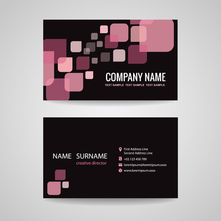 Business Card Template Design For Barber Shop Royalty Free - Barber shop business card templates