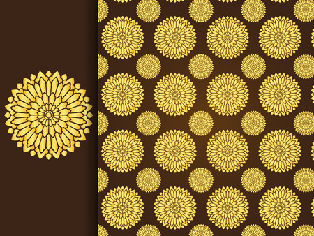 asian art: Asian traditional art Design Vector, Thai traditional background ( Lai Thai pattern )