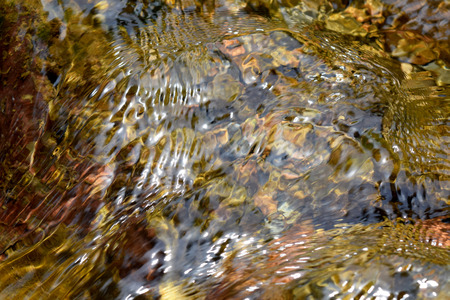 stream of water: Abstract texture river creek stream water on rock