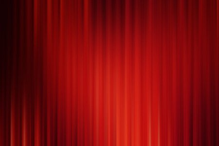Abstract art background red black drape cinema motion style Stock Photo