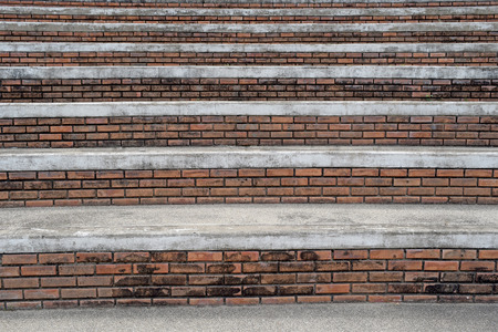 Abstract background is staircase Bricks and mortar photo