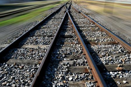 ferrocarril: El fondo nudo ferroviario y velocidad de movimiento