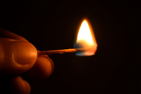 matchstick: Handle  ignition matches