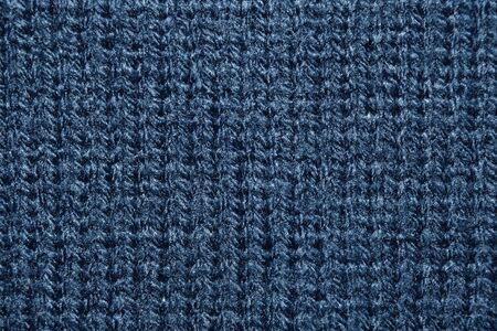 knitwear: Close up azure knitwear texture abstract background