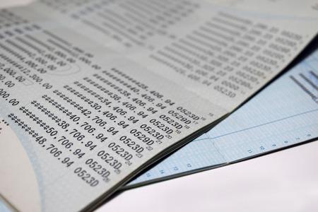 cuenta bancaria: Ahorrar cuenta bancaria Cuenta Passbook fondo abstracto