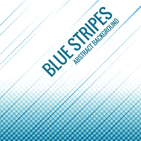 Blue stripes line abstract Background Vector design