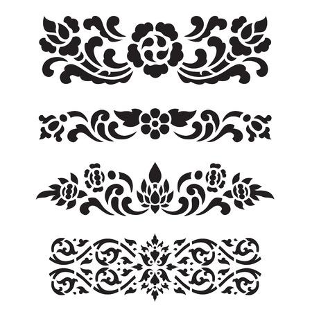 アジアの伝統芸術デザイン