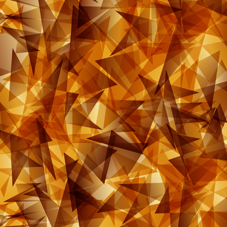 sharp: Gold triangle sharp overlapping vector Abstract background Illustration