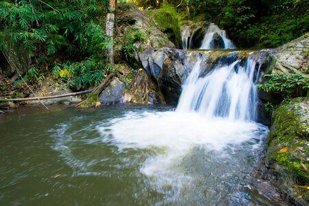 water fall: Mea wong water fall in chiangmai , thailand