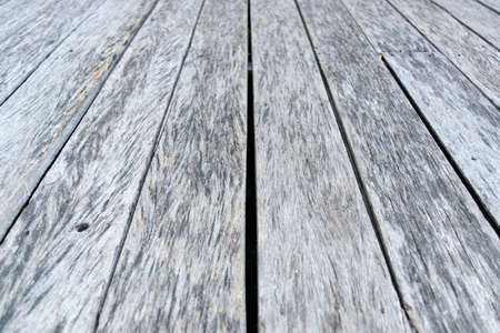 white wood floor: Old White gray wood floor for background texture
