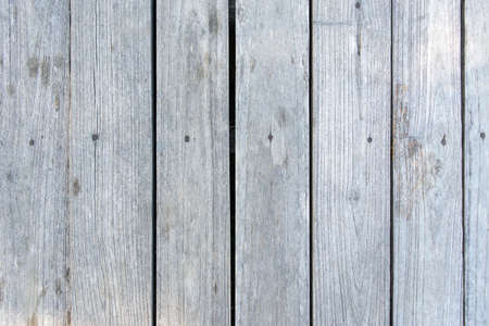 wood wall texture: Old White gray wood wall for background texture