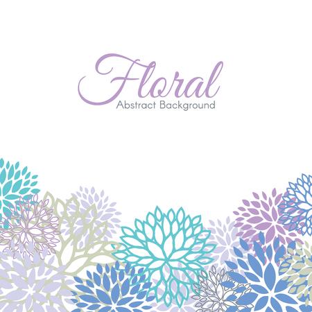 Il disegno floreale di colore astratto astratto astratto disegno vettoriale Archivio Fotografico - 51576259