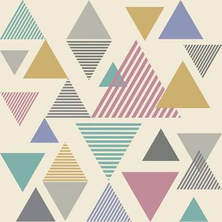 saturate: Triangle line stripe abstract background - saturate color tone