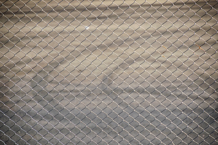 detain: Steel Wire mesh for fence Raceway sport Stock Photo