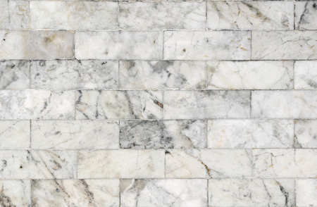 wall texture: White marble block walls for texture and background