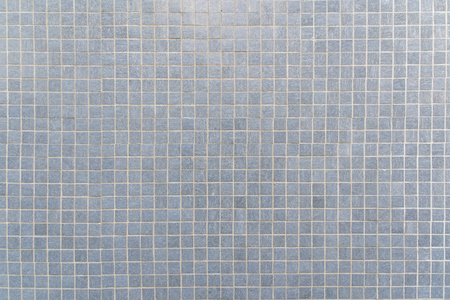 tile background: Blue gray Mosaic floor tile for texture background