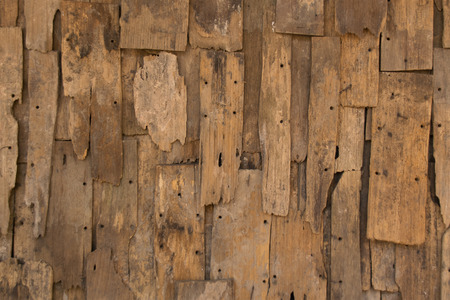 wall texture: Old slat wood wall vintage texture and background
