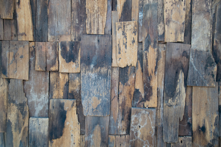 reclaimed wood wall: Old slat wood wall vintage texture and background - Reclaimed Wood Wall Stock Photos & Pictures. Royalty Free