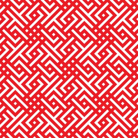 Red Chinese pattern seamless illustration vector background design