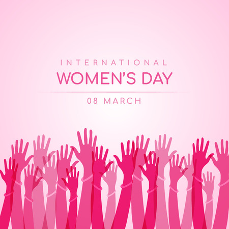 Internationale vrouwendag ontwerp