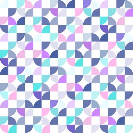 Abstract quarter of circle texture pattern background vector design Vecteurs