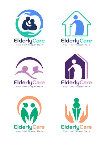 Signe de soins aux personnes âgées